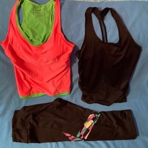 Women's workout clothes